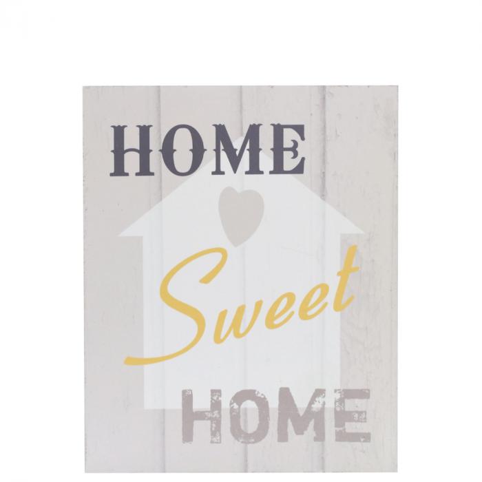 Wandbild Home Sweet Home Motiv Küche Poster Shabby