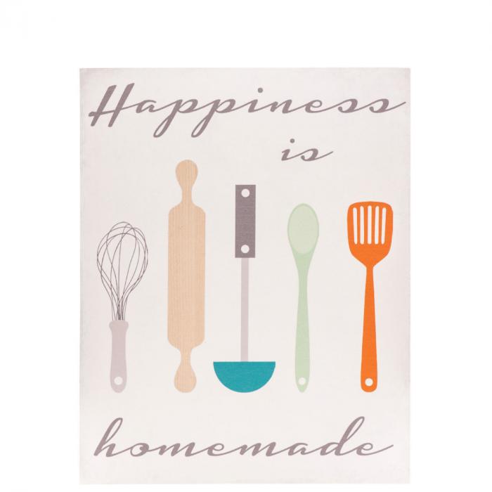 Küche Poster | Wandbild Happiness Motiv Kuche Poster