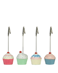 Cupcake Postkartenhalter Fotohalter oder Tischkärtchenhalter