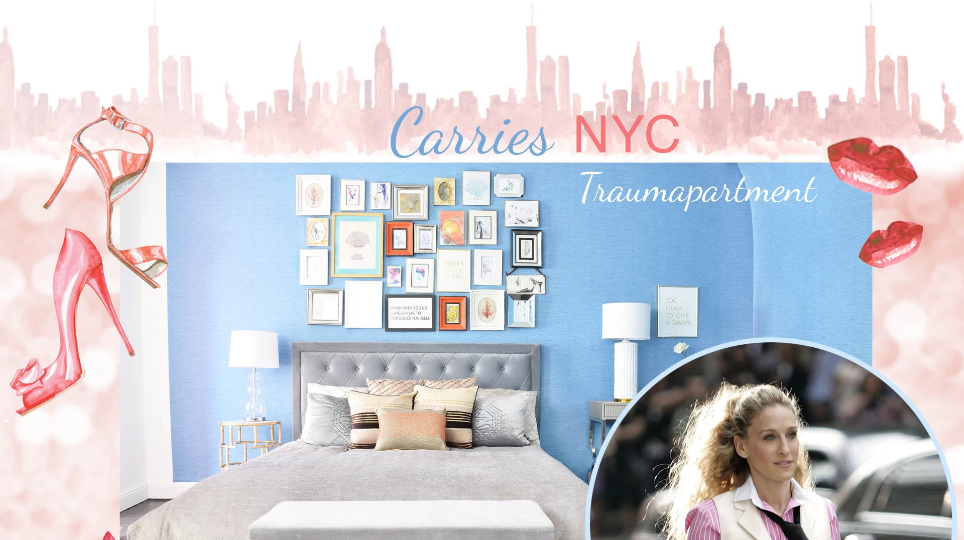 get the look carries nyc traumapartment instashop. Black Bedroom Furniture Sets. Home Design Ideas