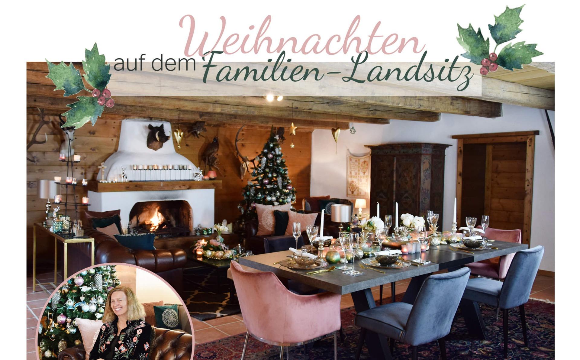 Homestory! Chalet im Weihnachtslook - Looks