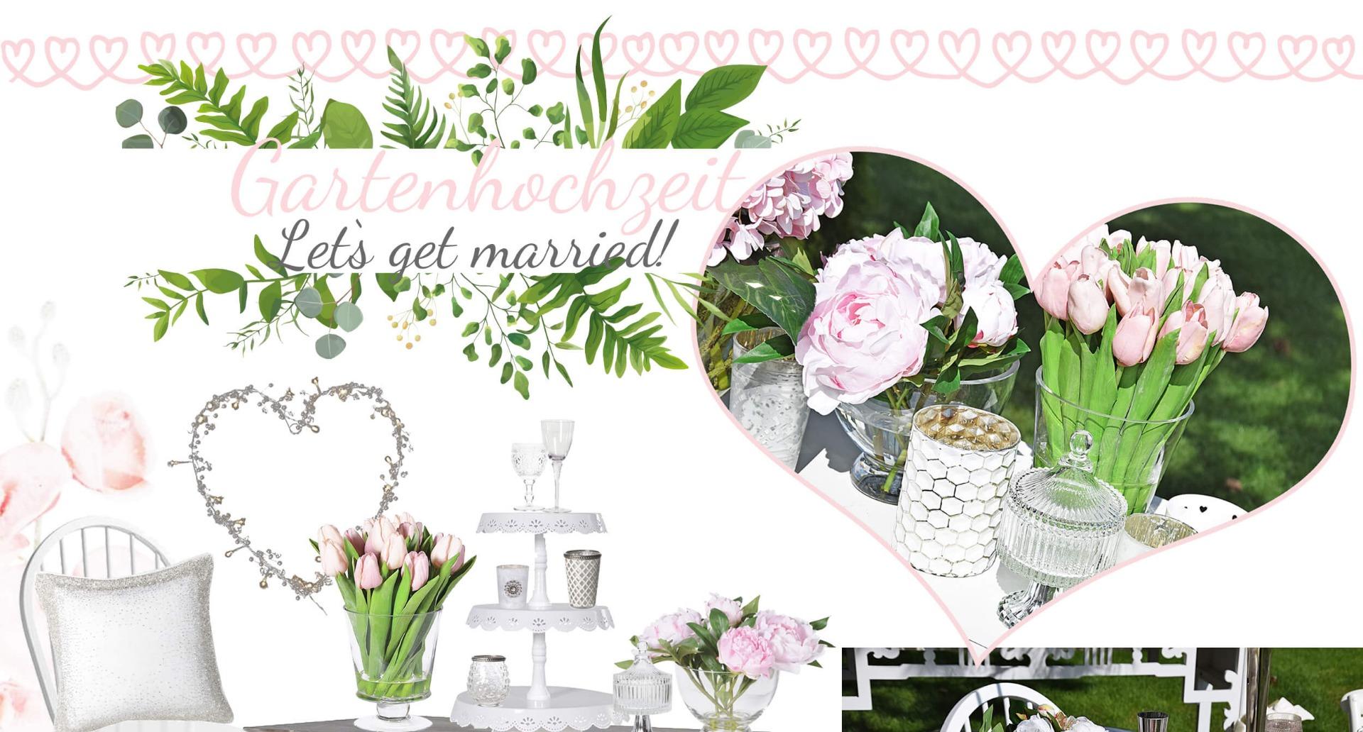 gartenhochzeit in wei rosa looks. Black Bedroom Furniture Sets. Home Design Ideas