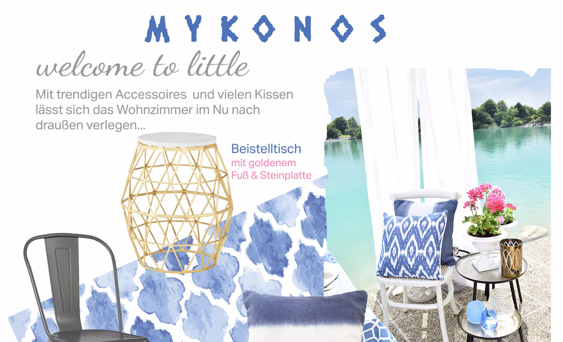 Neuer Look online! Mykonos-Style - #InstaShop