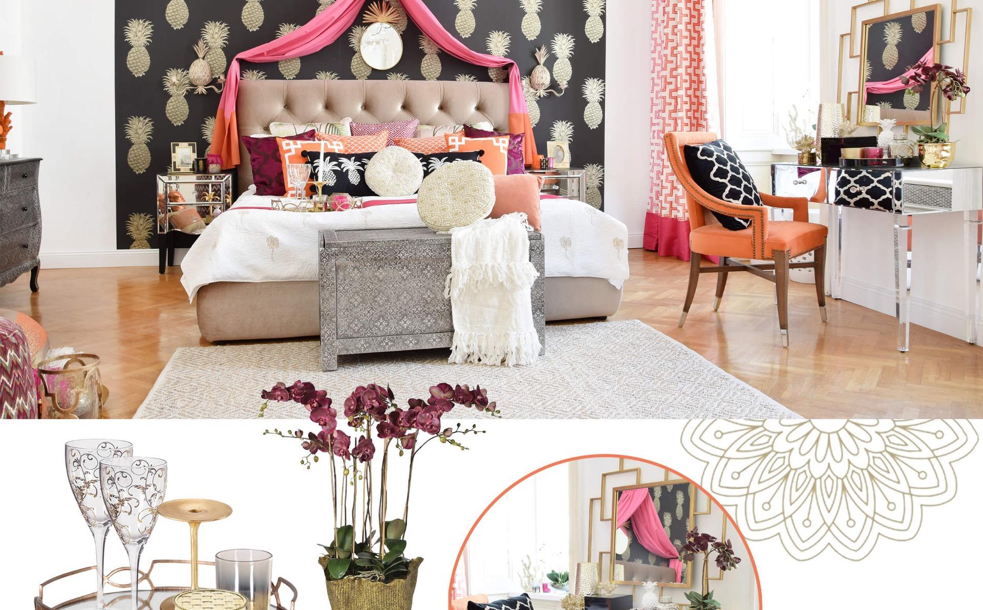 Neuer Look: Schlafzimmer-Traum aus 1001 Nacht - #InstaShop