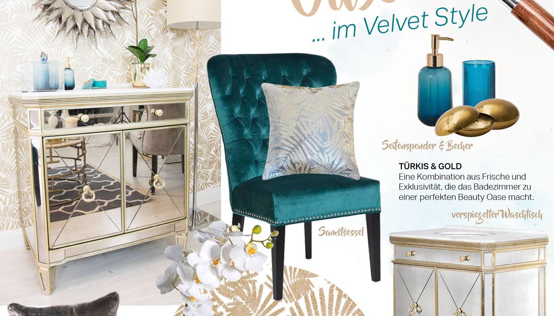 ... Beauty Lounge Badezimmer Im Velvet Style ...