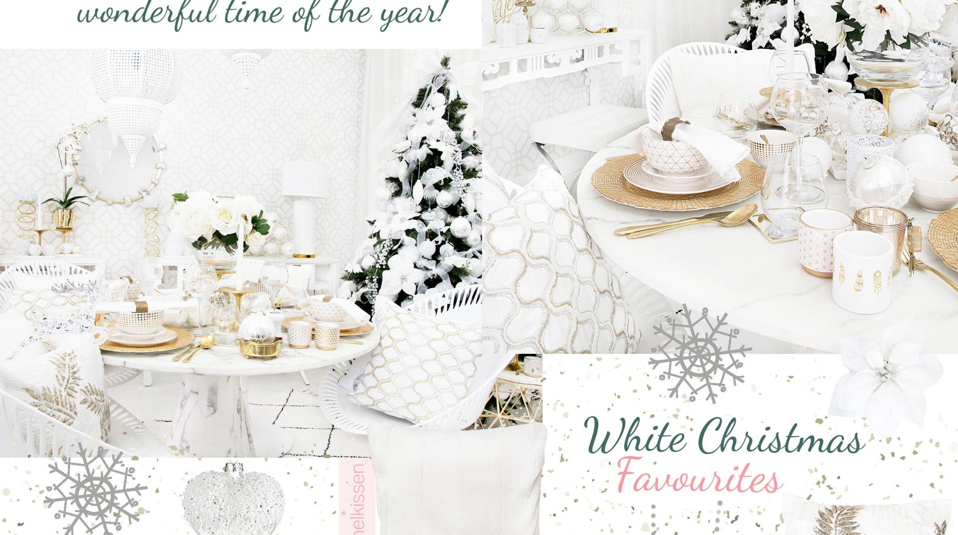 White Christmas Weihnachtsdeko In Purem Weiss Looks